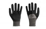 Gant anti coupure nitrile noir