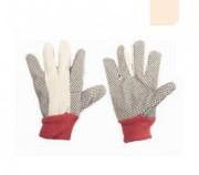 Gant coton et intérieur gratté - Coton sergé  - Taille 9 - Norme CE