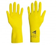 Gant de protection chimique en latex