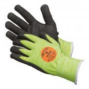 Gant de protection tricoté sans couture - Normes EN 388/EN 407 - Haute visibilité