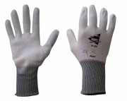 Gant fibre de verre blanc - Taille : De 6 à 10