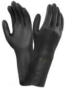 Gant manutention néoprène noir - Normes : EN 388-375  -  Longueur 300 mm