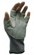 Gant mitaine de protection à paume croûte - Tailles standards : Femme - Homme