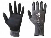 Gant polyuréthane noir à Poignet élastique - Taille : De 5 à 11