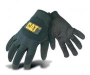 Gants caterpillar avec poignet ajustable -  Matière : Paume : 60% polyuréthane / 40% nylon - Tailles : 8 - 9 - 10