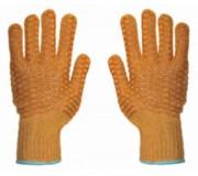 Gants coton tricotés machine