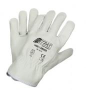 Gants cuir vachette Taille 8 à 11 - Résistance norme EN 388 : 3121 - Tailles : 8 - 9 - 10 - 11