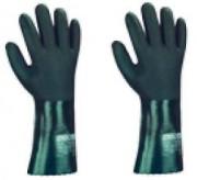 Gants de protection chimiques en nitrile - Taille : 10.