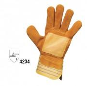 Gants docker en croute de bovin - Taille 10 - Resistance EN 388 : 4234