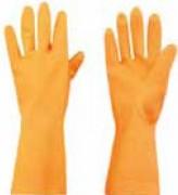 Gants en latex renforcés - Tailles disponibles : S - M - L - XL.