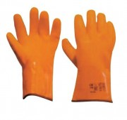 Gants enduction PVC - Taille : 10 - Dimension (L) : 300 mm - 1 paire
