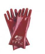 Gants enduit pvc - Tailles : 9 - 10 - Matière : PVC sur support coton