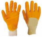 Gants imperméables - Tailles : de 6 à 11 - Matière : coton/nitrile