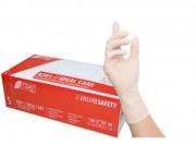 Gants latex poudrés - Boïte 100 gants ambidextres, poudrés, non stérile