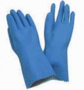 Gants latex support coton - 1 paires - Dimension (L) : 310 mm - Tailles : 7- 8 - 9 - 10