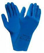 Gants manutention pour nettoyage - Ultra fins en caoutchouc naturel  -  Longueur : 290 mm