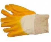 Gants nitrile jaune - Gants hautement résistant contre les produits chimiques domestiques