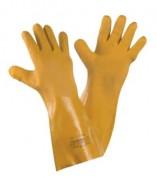 Gants protection chimique pvc - Interlock coton / finition rugueuse