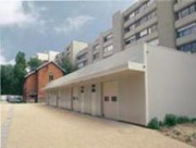 Garage à structure acier