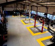 Garage Atelier - Dalles PVC emboîtables - 3 Textures : Lisses / Diamant / Pastillées. Joints apparents ou joints invisibles. Plusieurs épaisseurs et Couleurs