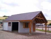 Garage atelier en béton - Abri auto
