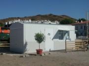 Garage préfabriqué en béton - Dalle de sol massif - murs latéraux - murs postérieurs - murs isolés