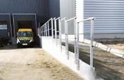 Garde corps aluminium de protection - Sur mesure - Fixation au sol ou sur mur