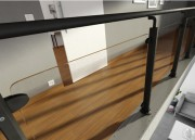 Garde-corps plexiglas sur mesure - Plexiglas cristal ou noir, dépoli satiné, blanc opaque - Épaisseur : de 3 à 15 mm