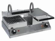 Gaufrier électrique 2 fers - Débit (gaufres/h) : 50 à 60