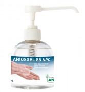 Gel hydroalcoolique de désinfection - Bouteilles de 300 ml - testé et approuvé en milieu hospitalier - efficacité sur H1N1 prouvée