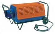 Générateur d'air chaud électrique - Puissance de 15 Kw - Mobile