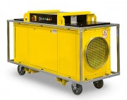Générateur d'air chaud mobile industriel - Puissance : 40, 80, 120 kW - Chauffage électrique