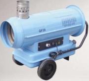 Générateur d'air chaud suspendu - Puissance électrique (Kw) : 103