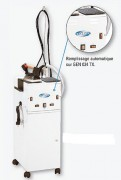 Générateur de vapeur et fer à repasser - Production vapeur 2 kg vap/h  -  Débit vapeur : 33 gr/mn