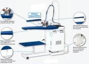 Générateur de vapeur remplissage automatique - Capacité chaudière : 4 L - Plateau réglable en hauteur de 82 à 102cm