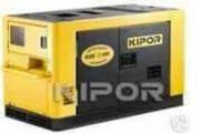 Générateur diesel - Puissance : 9.5 kVA - Réservoir : 25 L.