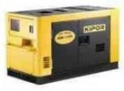 Générateur diesel pour professionnel - Puissance : 17 kVA - Réservoir : 38 L