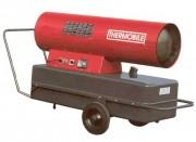 Générateur fioul Mobile sur roues - Puissance calorifique : 46 Kw - 40.000 Kcal/H - Débit d'air (M3/H) : 1200