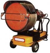 Générateur mobile infrarouge au fuel - Puissance électrique (Kw) : 40