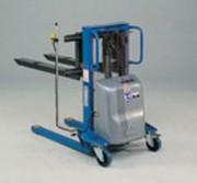 Gerbeur à levée électrique 1000 kg - Hauteur de levage (mm) : 800