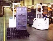 Gerbeur automatique porte à faux - Capacité de charge : 3.5 tonnes