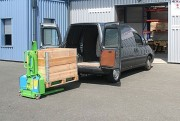 Gerbeur de levage auto embarqué - Capacité de levage : 600 kg