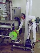Gerbeur de manutention bobines 150 kg - Pour basculement de bobines d'un poids de 150 Kg