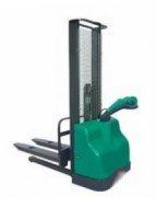 Gerbeur électrique à fourches fixes 1.15 m - Hauteur de levage (mm) : De 1600 à 3500