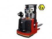 Gerbeur électrique auto-portant - Capacité  400 kg - dimensions fourches (L X l) 114 x 54 cm