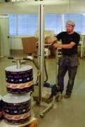 Gerbeur électrique professionnel de bobines - Capacité de levage (Kg) : 120