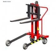 Gerbeur élévateur manuel ou électrique - Capacité  : Man : 250 kg - Elec : 1000 kg
