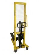 Gerbeur hydraulique à déplacement manuel - Capacités : 500 - 1000 et 1500 kg
