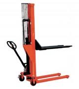 Gerbeur hydraulique manuel 1000 kgs - Capacité 1000 kg - Mat poutre