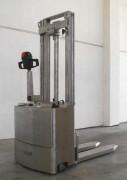 Gerbeur inox électrique - Capacité 1200kg à 1500kg